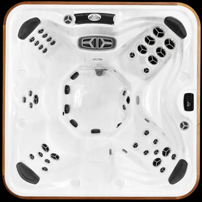 Top view of the Arctic Spas Yukon SDS hot tub