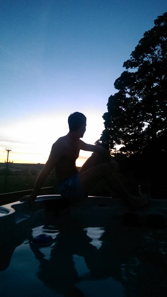 Hot tub Person