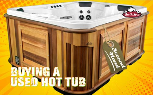 buying a used hot tub